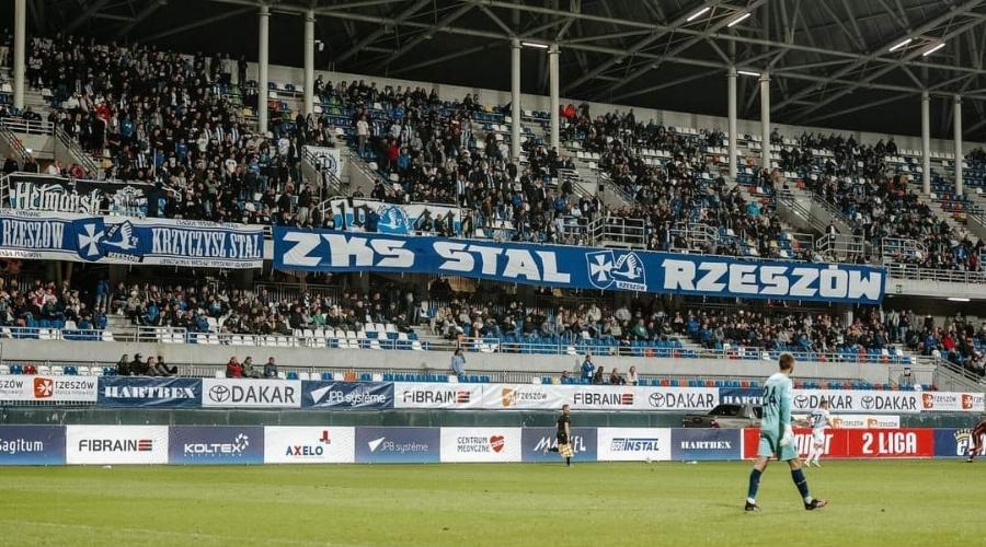Kibice Stal Rzeszów