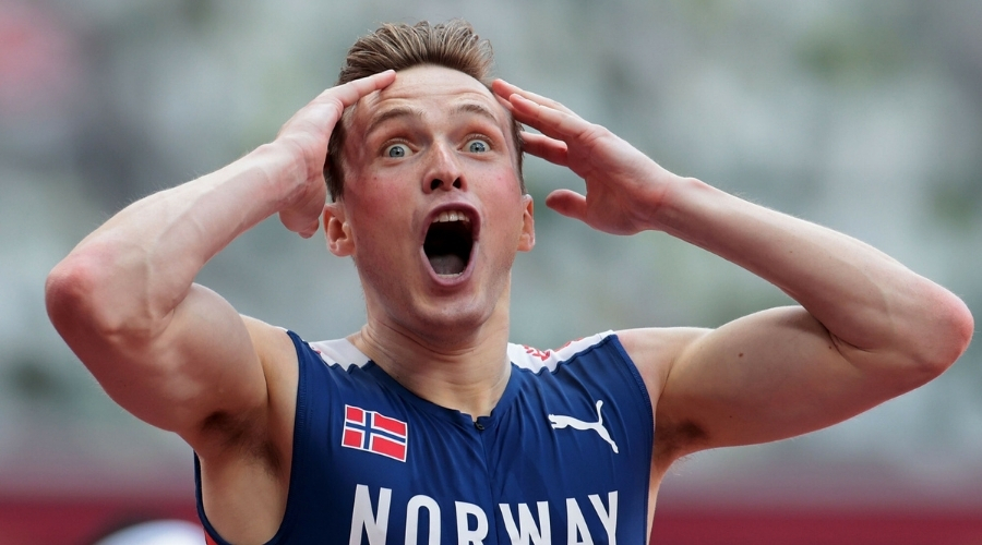 Karsten Warholm rekord świata igrzyska olimpijskie