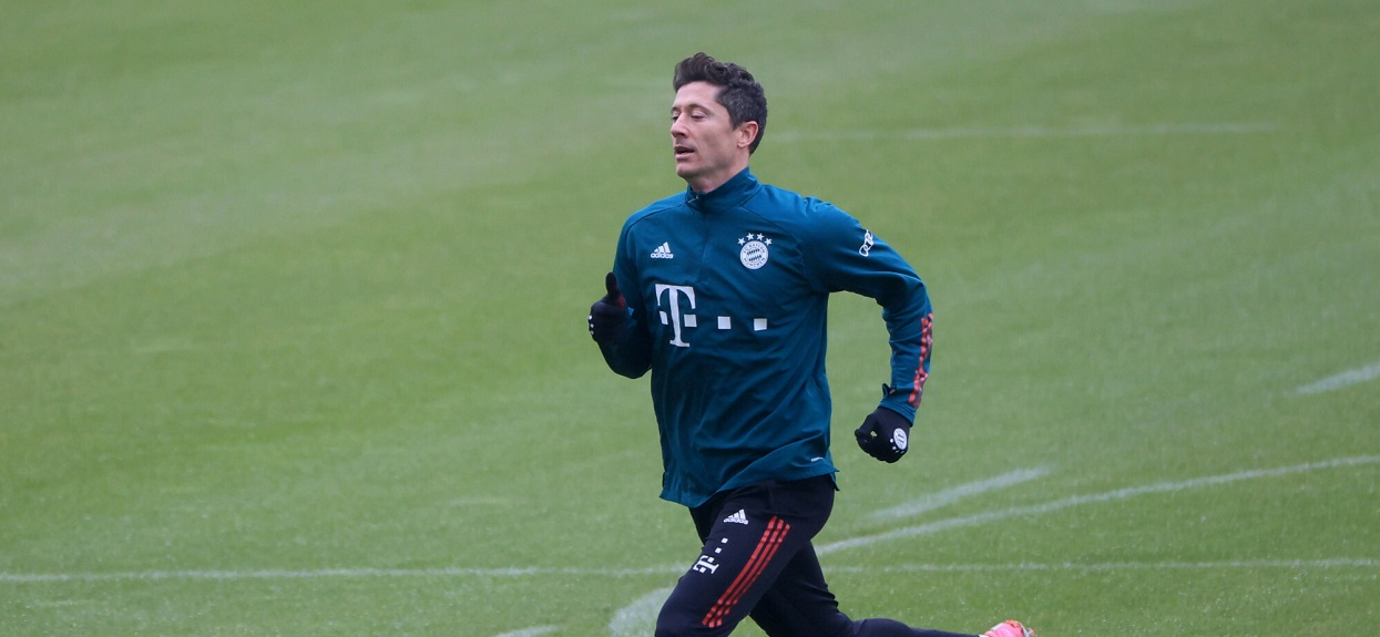 Robert Lewandowski trening
