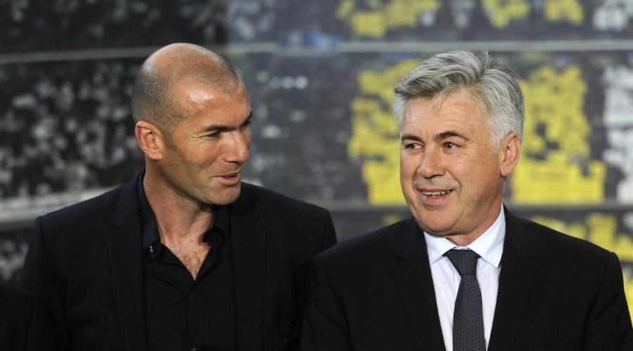 Real Madryt trener Carlo Ancelotti