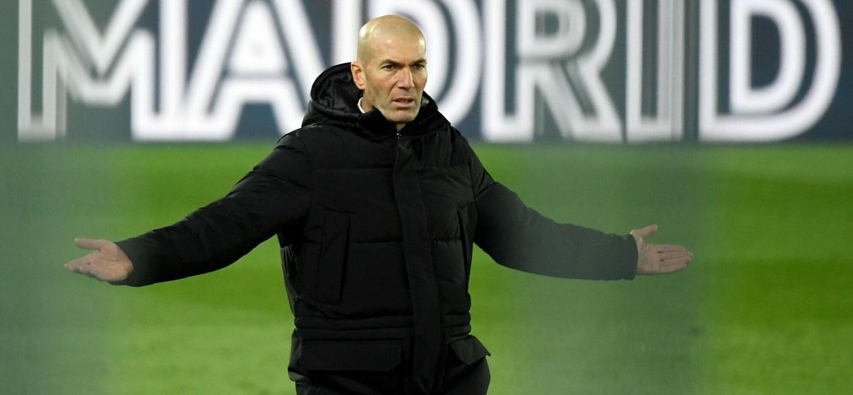 Zinedine Zidane trener Realu Madryt