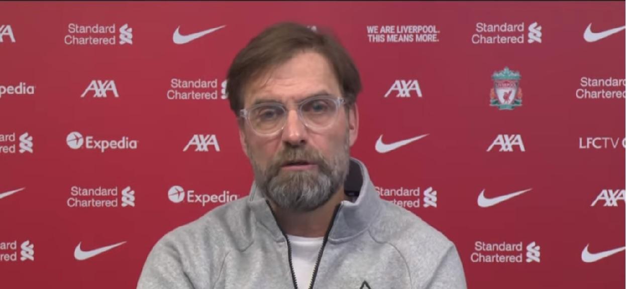 Trener Liverpoolu Jurgen Klopp
