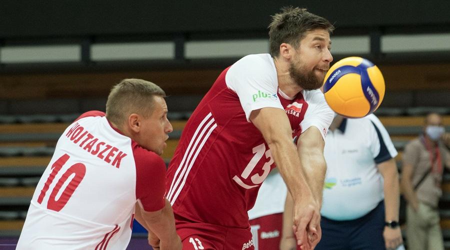 Damian Wojtaszek i kapitan reprezentacji Polski w siatkówce