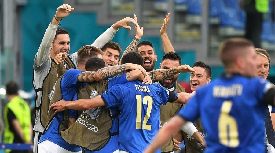 Włochy Walia euro 2020
