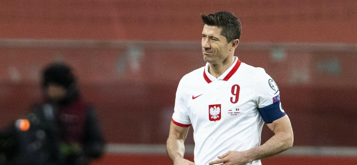Robert Lewandowski w reprezentacji Polski