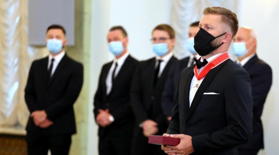 Jakub Błaszczykowski odznaczenie Krzyż Komandorski Orderu Odrodzenia Polski