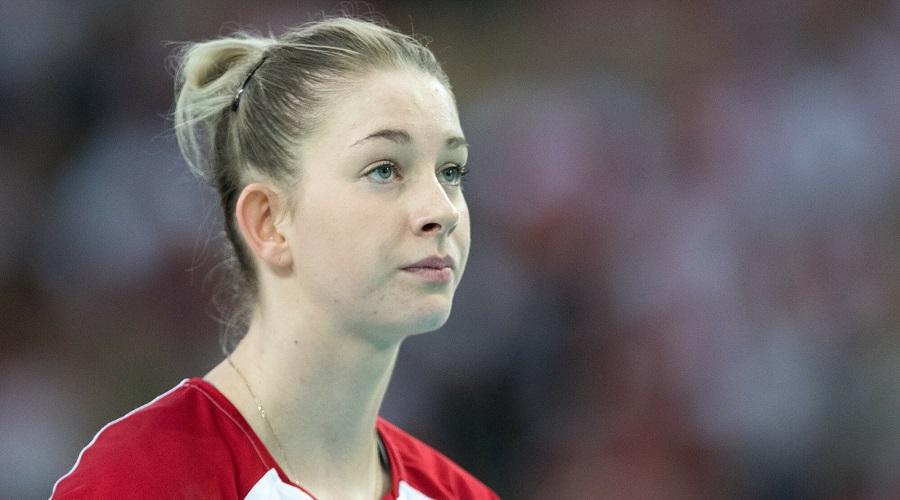 Magdalena Stysiak w barwach reprezentacji Polski