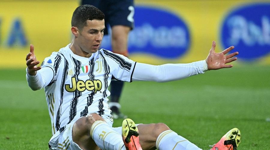 Cristiano Ronaldo w barwach Juventusu