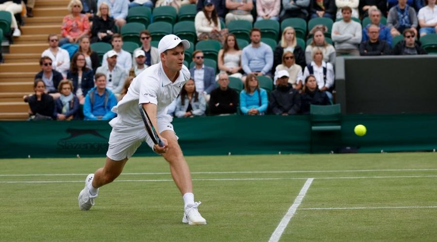 Hubert Hurkacz Wimbledon Miedwiediew