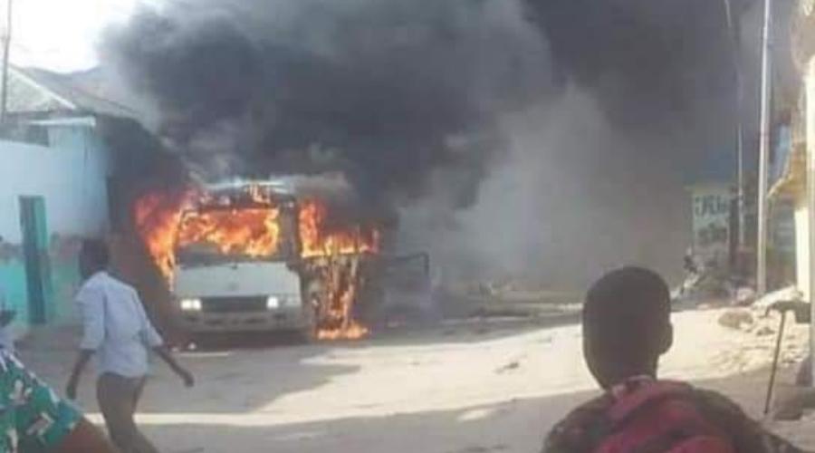 Somalia, atak terrorystyczny