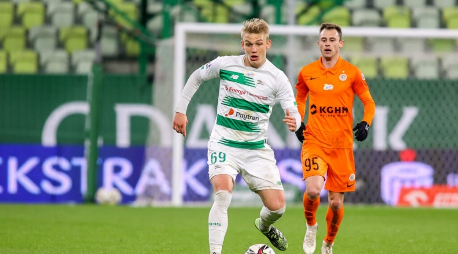 Jan Biegański Lechia Gdańsk transfer