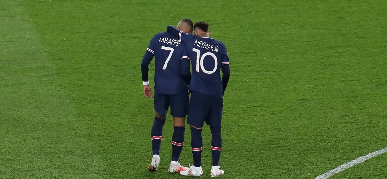 Paris Saint-Germain Mbappe Neymar