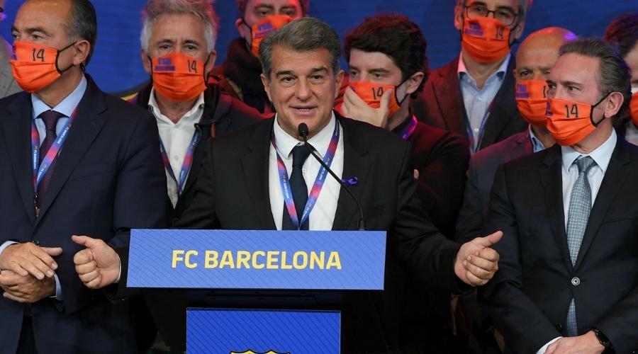 FC barcelona Laporta