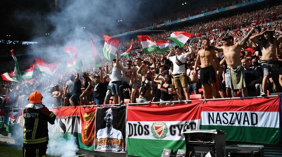 Kibice reprezentacji Węgier