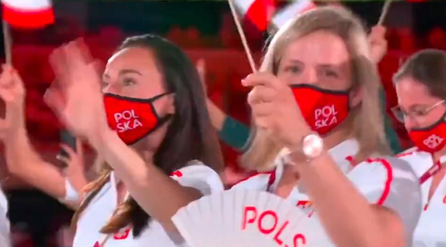 Reprezentacja Polski na ceremonii otwarcia
