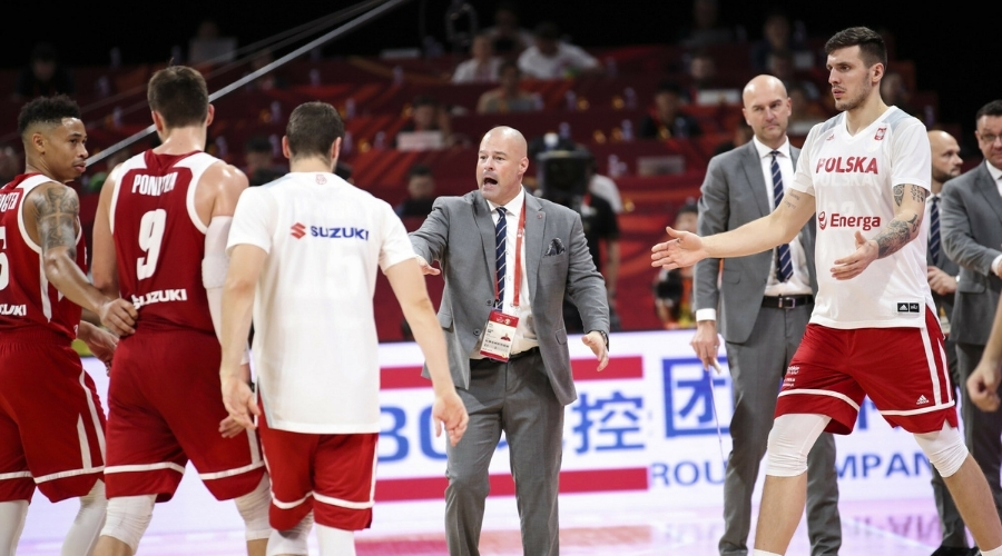 Reprezentacja Polski koszykarzy Mike Taylor