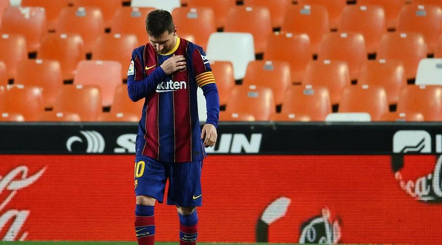 Leo Messi w barwach FC Barcelony