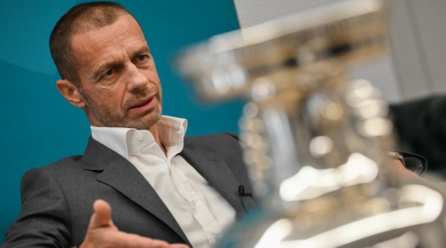 Euro 2020 Aleksander Ceferin