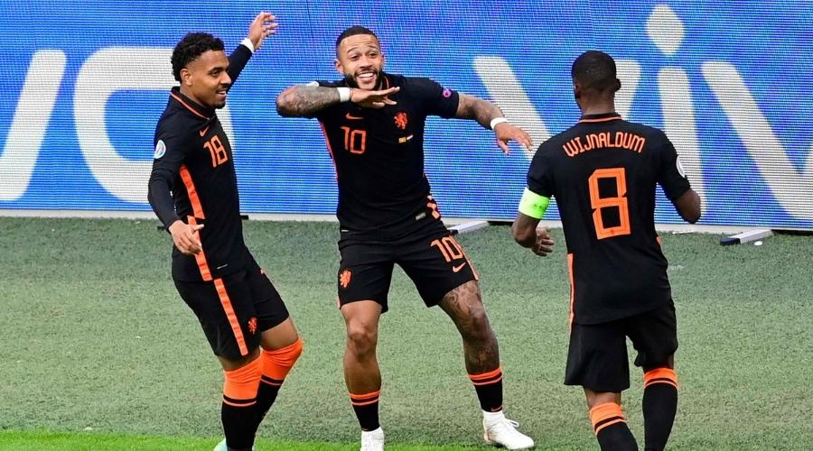 Holandia Macedonia Północna Euro 2020