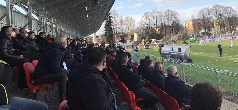 Pełna trybuna na meczu Ekstraklasy