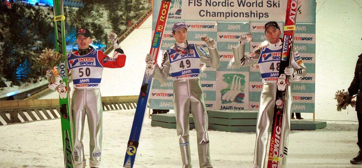 Adam Małysz, Martin Schmitt i Janne Ahonen