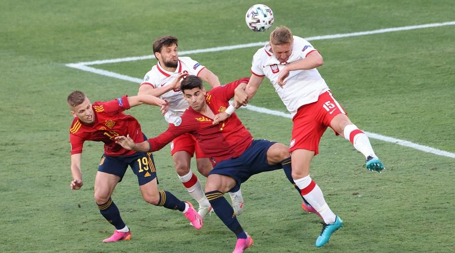 Alvaro Morata - napastnik reprezentacji Hiszpanii