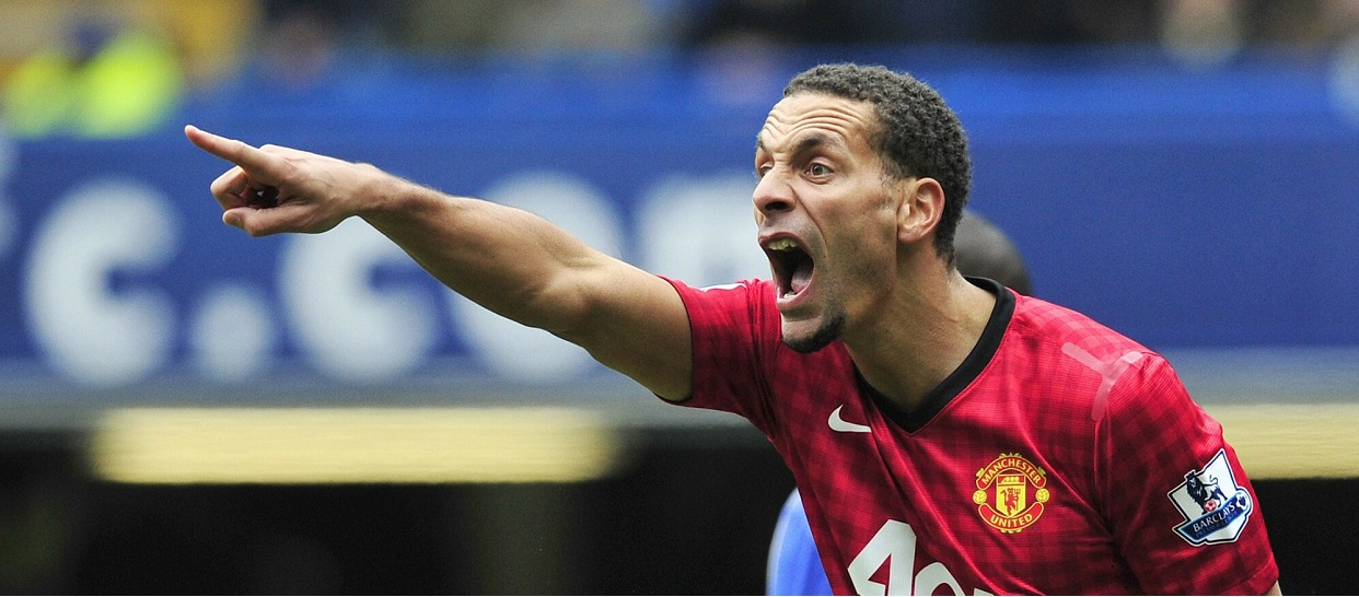 Rio Ferdinand w barwach Manchesteru United