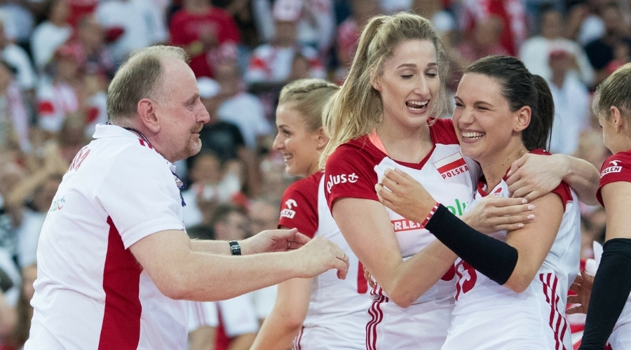 Reprezentacja Polski siatkarek