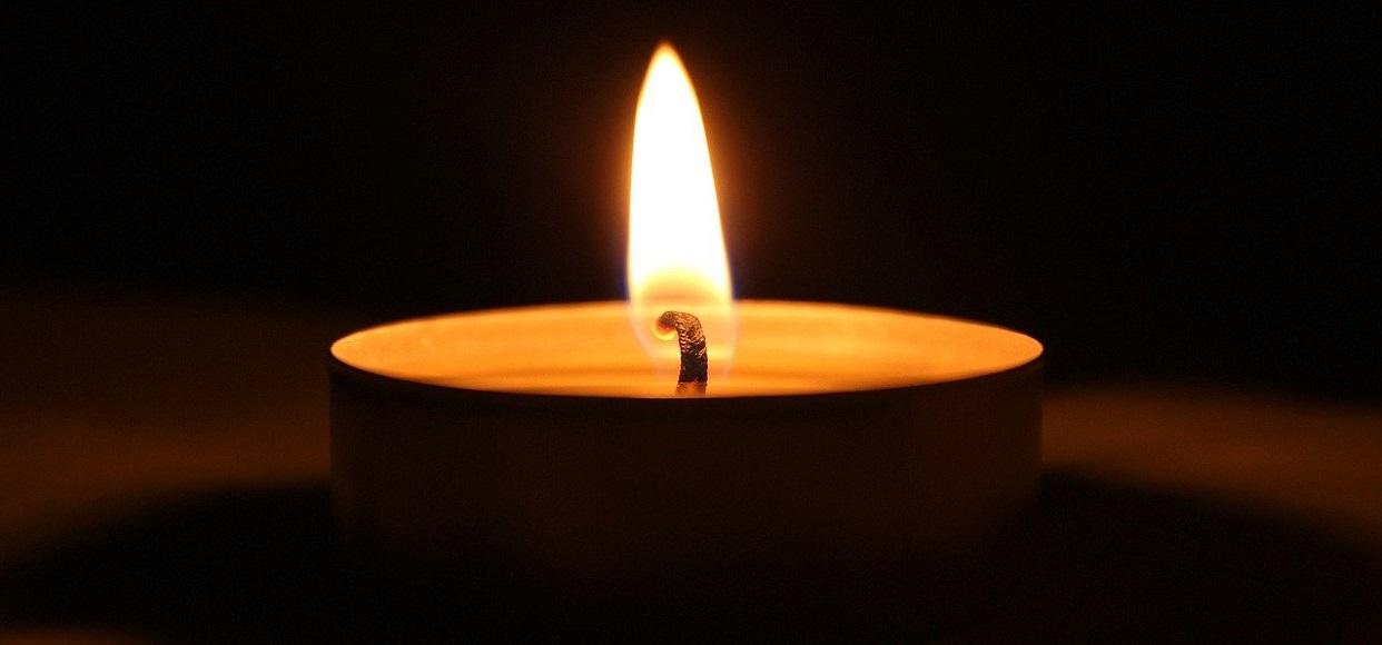 Nie żyje - świeczka żałobna