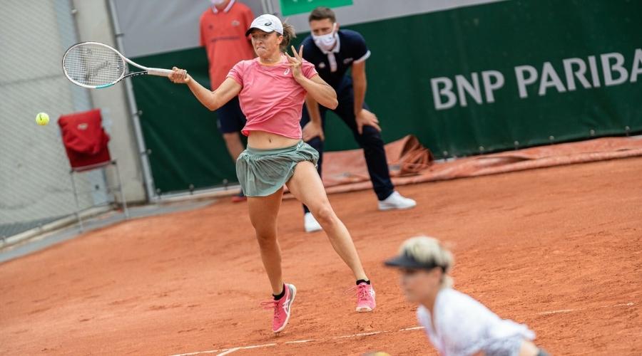 Iga Świątek Bethane Mattek-Sands French Open