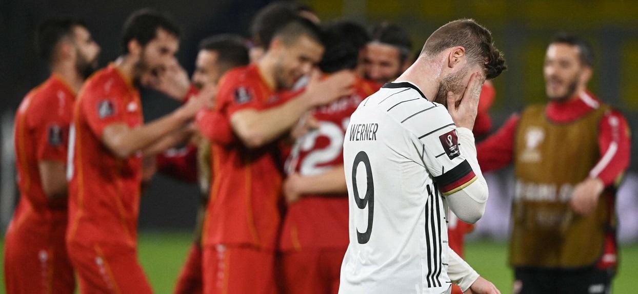 Porażka reprezentacji Niemiec