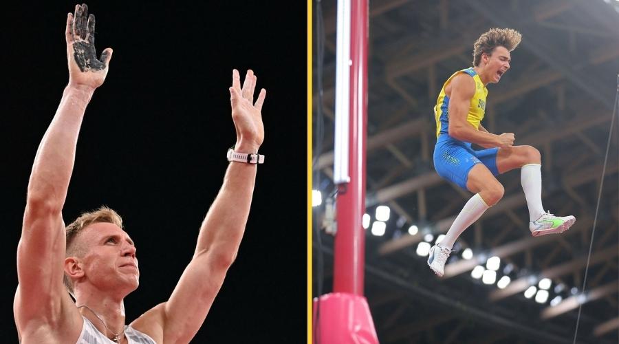 Piotr Lisek Armand Duplantis Igrzyska olimpijskie