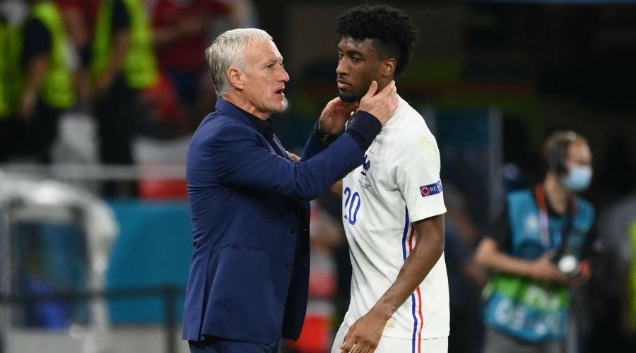 Euro 2020 Deschamps Coman