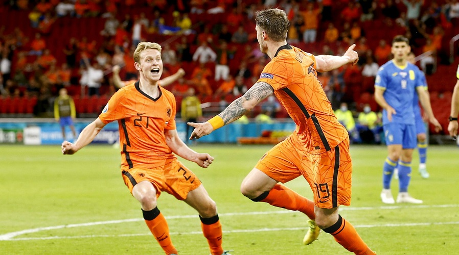 Holandia Ukraina Euro 2020