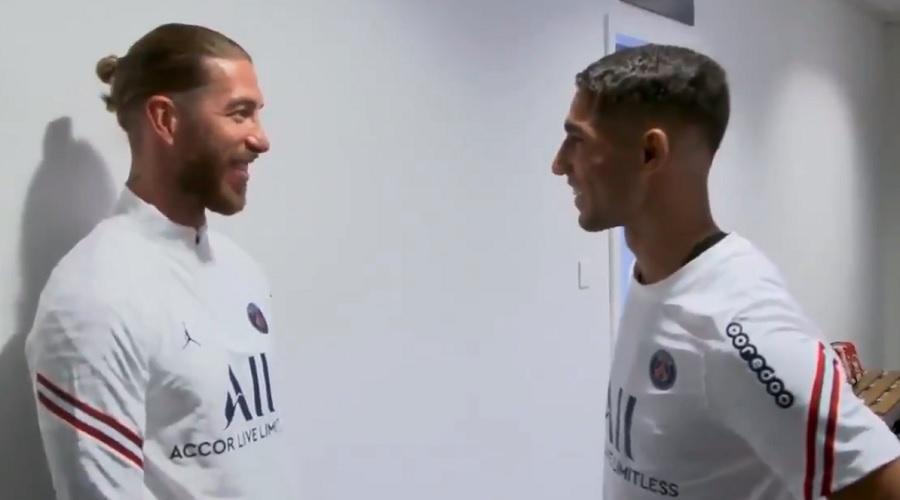 Sergio Ramos i Achraf Hakimi