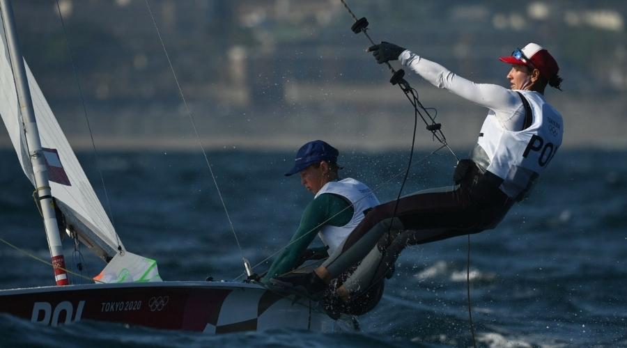 Medal igrzyska olimpijskie żeglarstwo