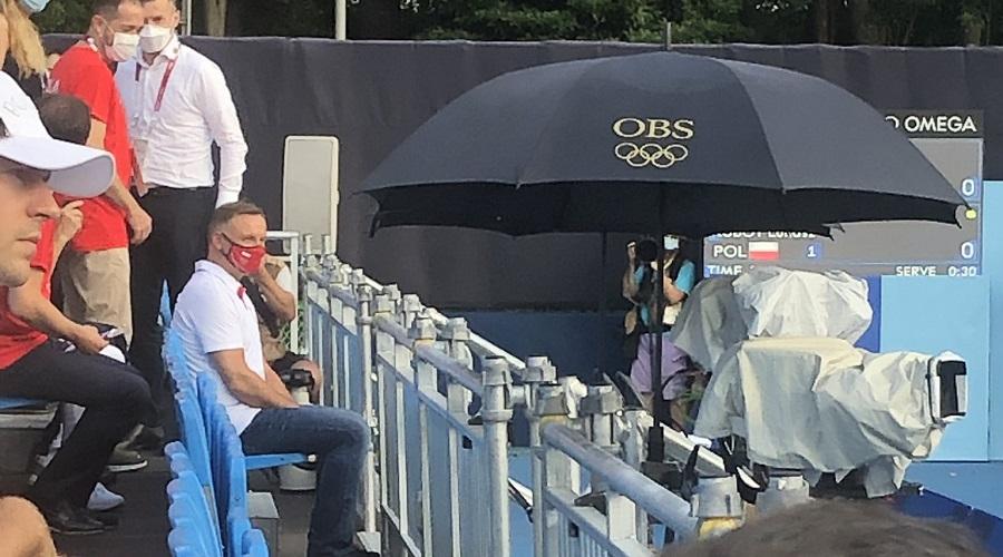 Andrzej Duda na igrzyskach olimpijskich