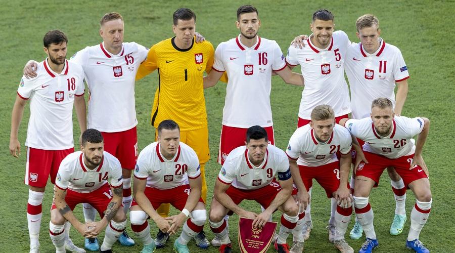 Reprezentacja Polski w trakcie Euro 2020