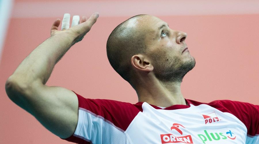 Bartosz Kurek w barwach reprezentacji Polski
