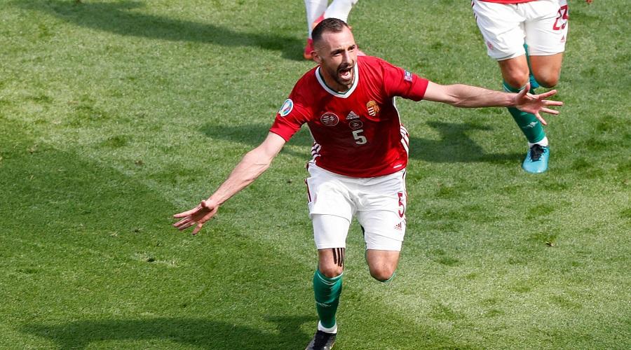 Mecz reprezentacji Węgier z Francją na Euro 2020