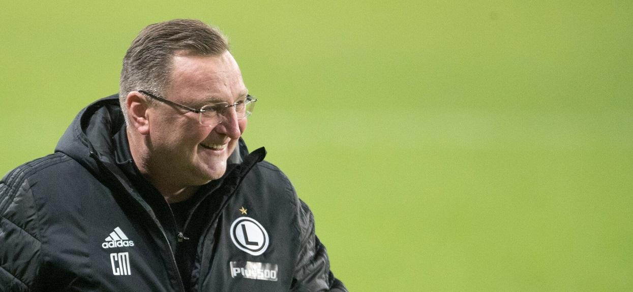 Czesław Michniewicz - trener Legii Warszawa