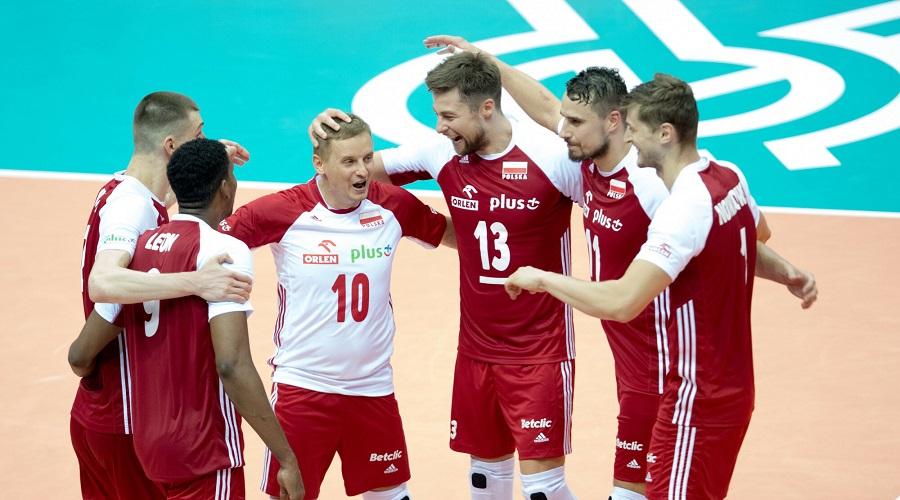 Reprezentacja Polski w siatkówce w meczu z Rosją