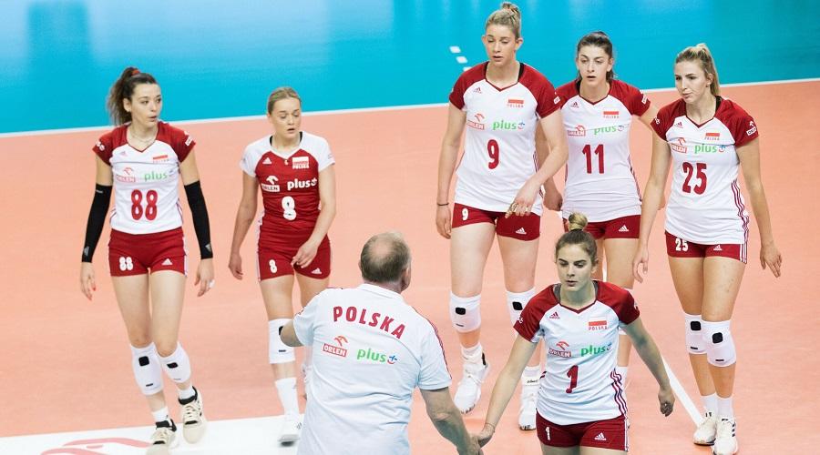 Reprezentantki Polski w siatkówce