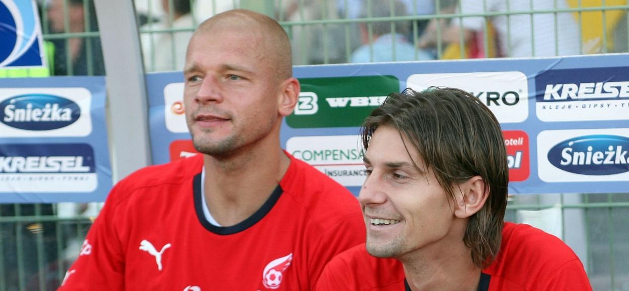 Wojciech Kowalewski i Euzebiusz Smolarek