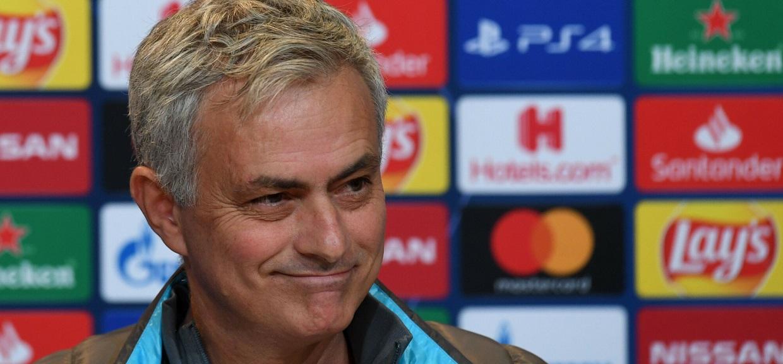 Trener Jose Mourinho