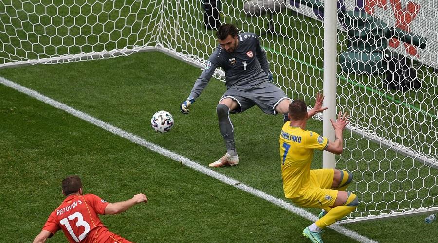 Gol reprezentacji Ukrainy