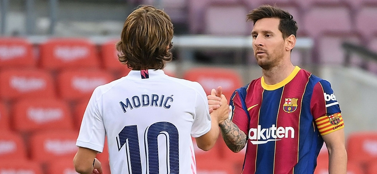 Real Madryt - FC Barcelona kibice