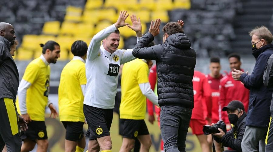 Piszczek pożegnanie z Borussią Dortmund
