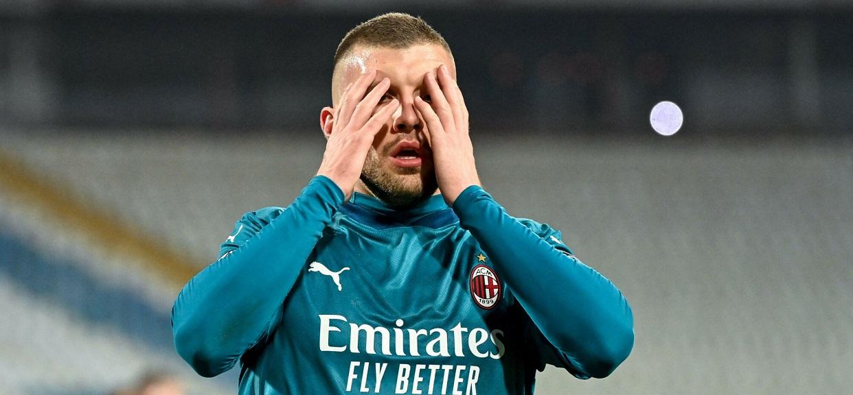 Piłkarz AC Milan