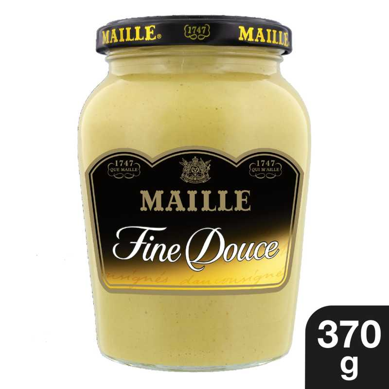 Maille Spe cialite a la Moutarde Fine Douce Bocal 370g 1